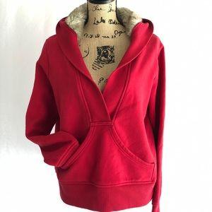 ❤️🥰Old Navy Faux Fur Hooded Sweatshirt 🥰❤️
